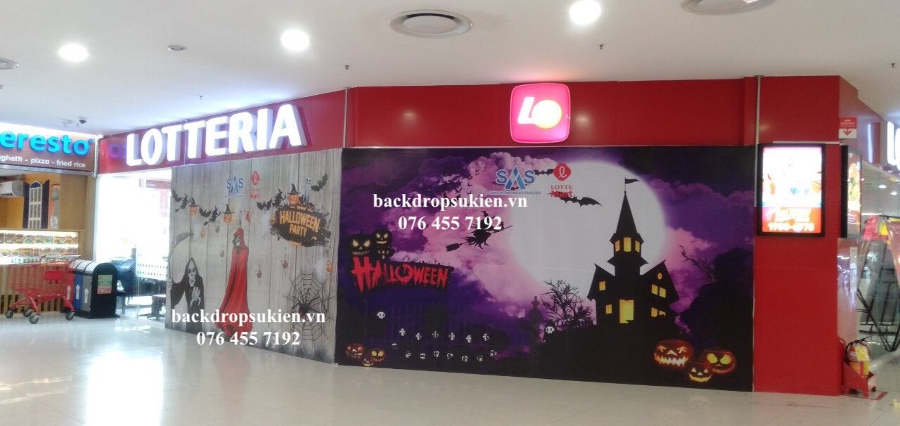 backdrop halloween